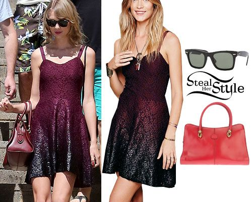 Taylor Swift at Cottesloe Beach in Perth December 9th, 2013 - Taylor Swift Style Steal