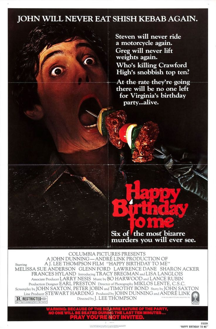 "John's Old School Horror Corner: Happy Birthday to Me (1981), a great ""bad"" 80s horror/slasher flick with plot twists and integrity"