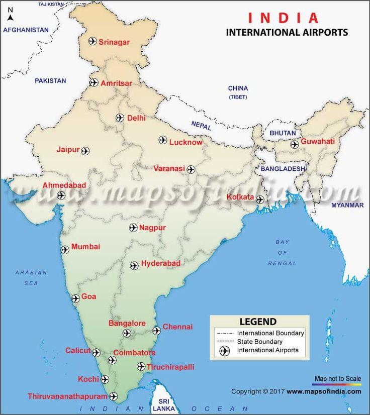 Map Port Calicut World