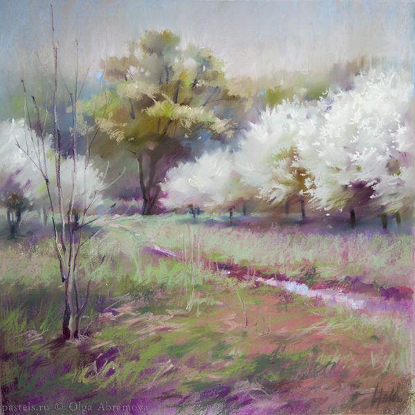 Белые сады 48×48. 2017