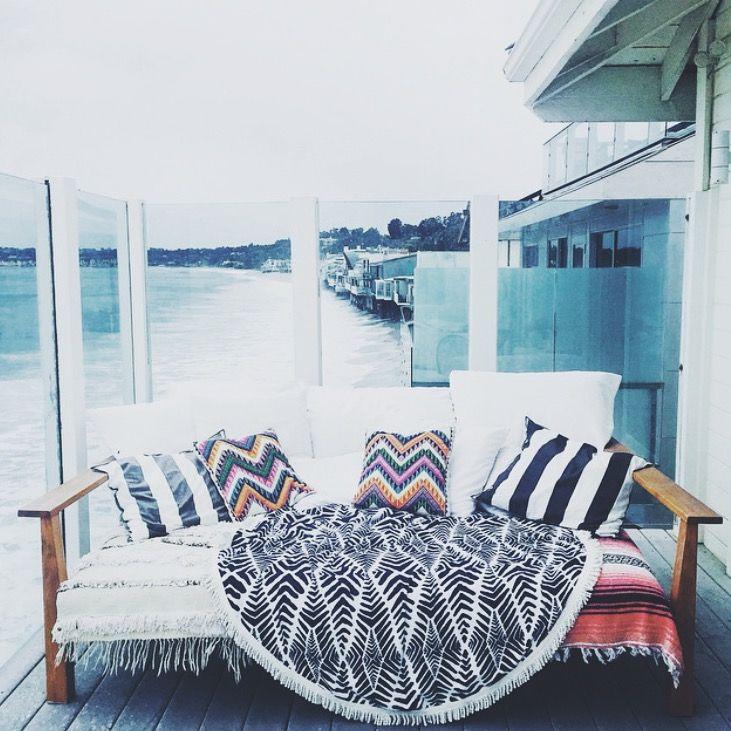 a sweet spot to put your feet up #paradis via @amanda_gordon The Beach People