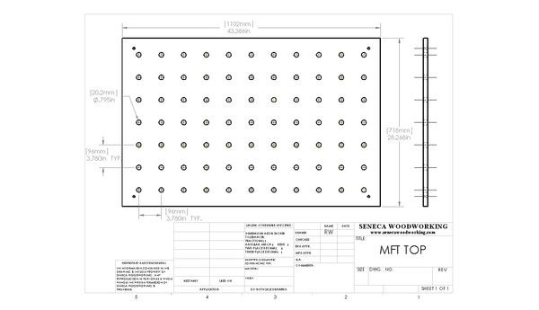 Replacement MFT Top CAD Drawings | Seneca Woodworking - http://www.senecawoodworking.com/blogs/news/5927081-replacement-mft-top-cad-drawings