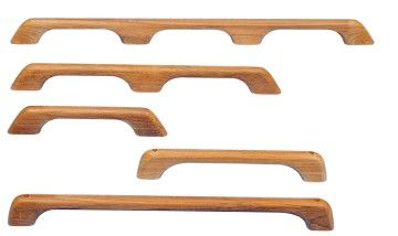 Teak Grab Rails in a variety of lengths. Description from cquip.com. I searched for this on bing.com/images