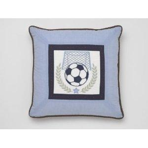 Whistle & Wink Soccer Decorative Pillow $79.00 (USD) from www.wellappointedhouse.com