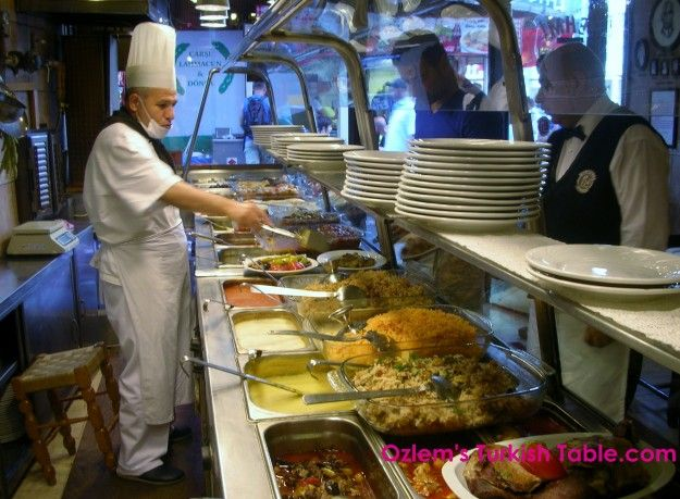 When in Turkey, don't use the menu. Look for yourself at what'son offer. :)