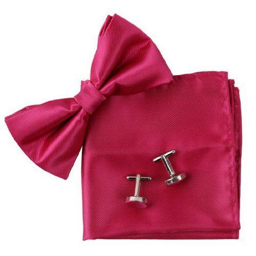 BT2027 Crimson Soild Excellent Gifts Idea For Husband Silk Pre-tied Bowtie Cufflinks Hanky Set By Epoint Epoint http://www.amazon.co.uk/dp/B0058FNL1C/ref=cm_sw_r_pi_dp_L6k0wb02H81PS