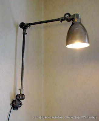 lampe industrielle sanfil