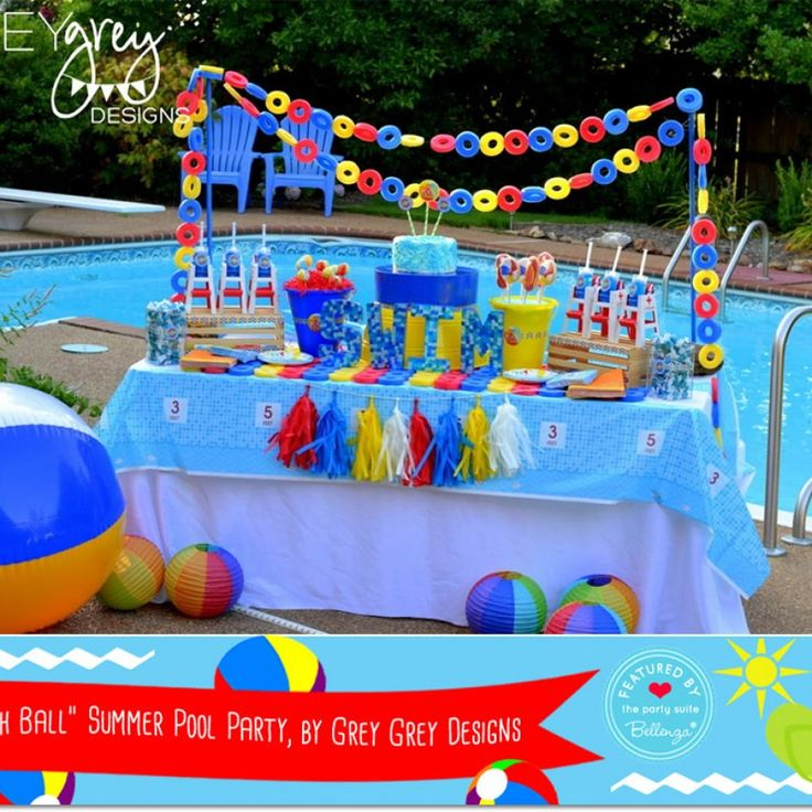 Pool Themed Bathroom: 2021 Best Images About BABY SHOWER THEMES On Pinterest