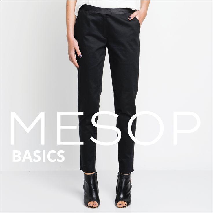 Mesop Basics Dylan Cigarette Pant | Autumn 2016 Collection 'Elemental www.mesop.com