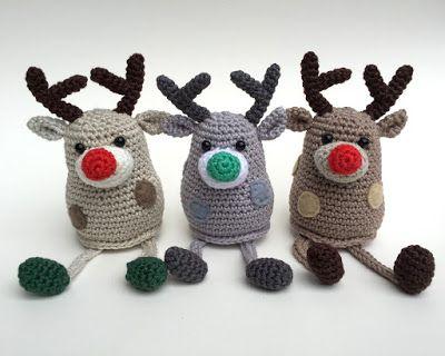 Amigurumi Little Reindeer-Free Pattern (Amigurumi Free Patterns)