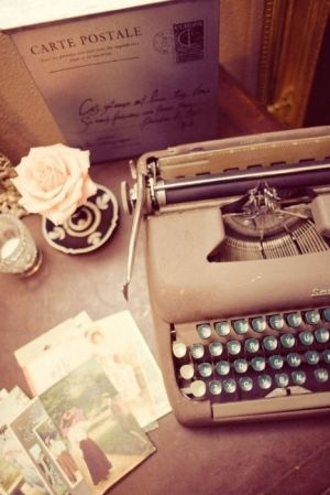 PROMPT: You are living in 1955 and you are a well know writer working on your biography. This is the tool of your trade-a manual typewriter. Include details about you and your typewriter in your biography.