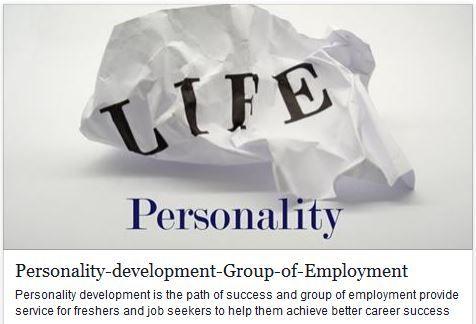 Personality-development-Group-of-Employment http://goo.gl/aaV9k4