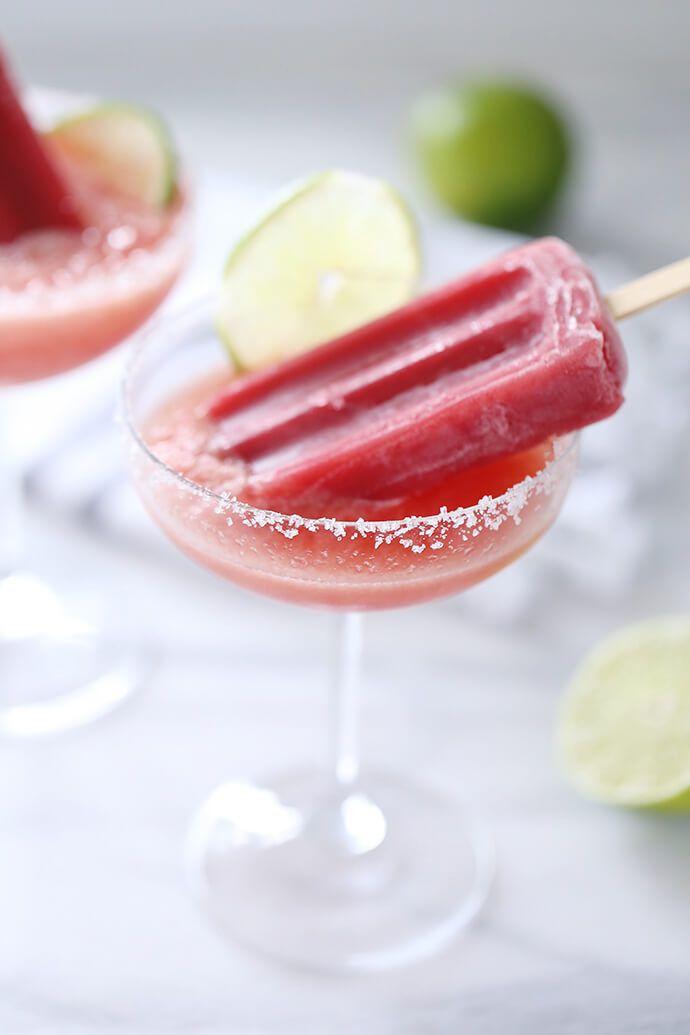 Frozen Watermelon Margarita Recipe | Glitter Guide