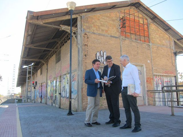Patrimonio Industrial Arquitectónico: El antiguo muelle de la Estación de Novelda acoger...
