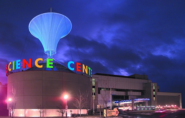 """Carnegie Science Center (Pittsburgh, PA)- Terrific museum in one of my favorite cities.  We love the submarine, model train exhibit, and the planetarium (choose between """"Stars Over Pittsburgh"""", or the children's version """"Stars Over Mr. Rogers' Neighborhood"""")."""