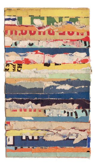 Collage, 'Intermezzo 63', Lisa Hochstein.