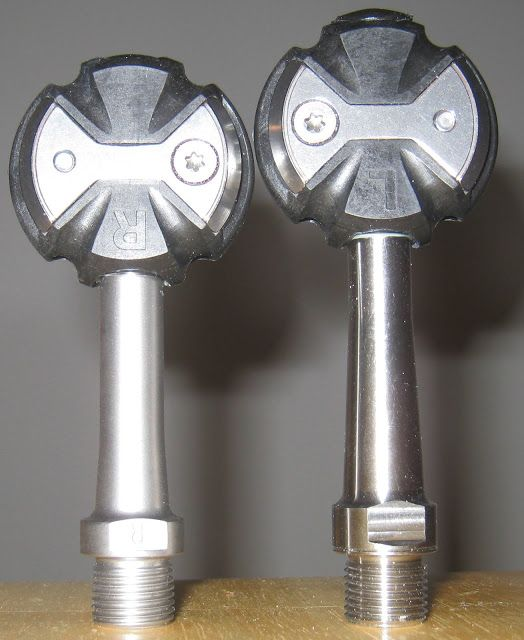 Speedplay Extra Long Titanium Spindles  http://torontocycles.blogspot.com/2017/07/speedplay-extra-long-titanium-spindles.html