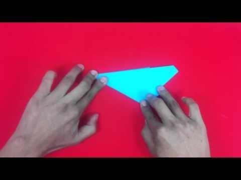 Estrella de papel con cinco puntas - Formas de origami - YouTube
