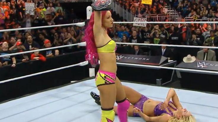 Royal Rumble 2016 results: Charlotte beats Becky Lynch, but...: Royal Rumble 2016 results: Charlotte beats Becky… #BeckyLynch #SashaBanks