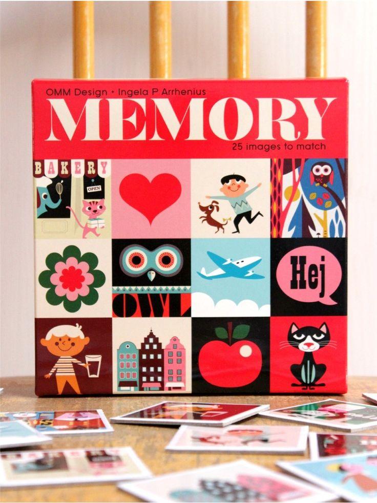 Ingela Arrhenius Memory Game, OMM Design, 3+