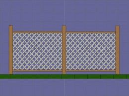 How to Install Lattice Privacy Screens - Method 1 Direct