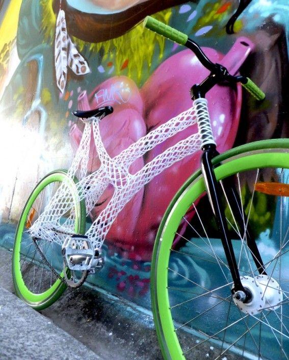 Ażurowy rower
