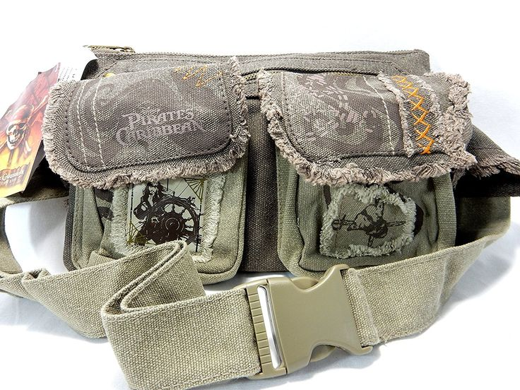 Pirates of the Caribbean Belt Bag > Details can be found  : Day backpacks