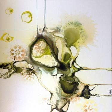 """Saatchi Kunstenaar Rikke Darling;  Schilderen, """"Sparkle"""" #art"""