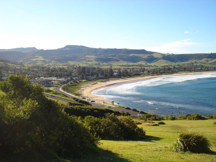Gerringong, NSW Australia Amazing town and beach...South of Sydney