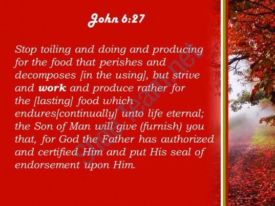 9553 best church sermons from the bible for pastor images on john 6 27 do not work for food that powerpoint church sermon slide04http toneelgroepblik Gallery