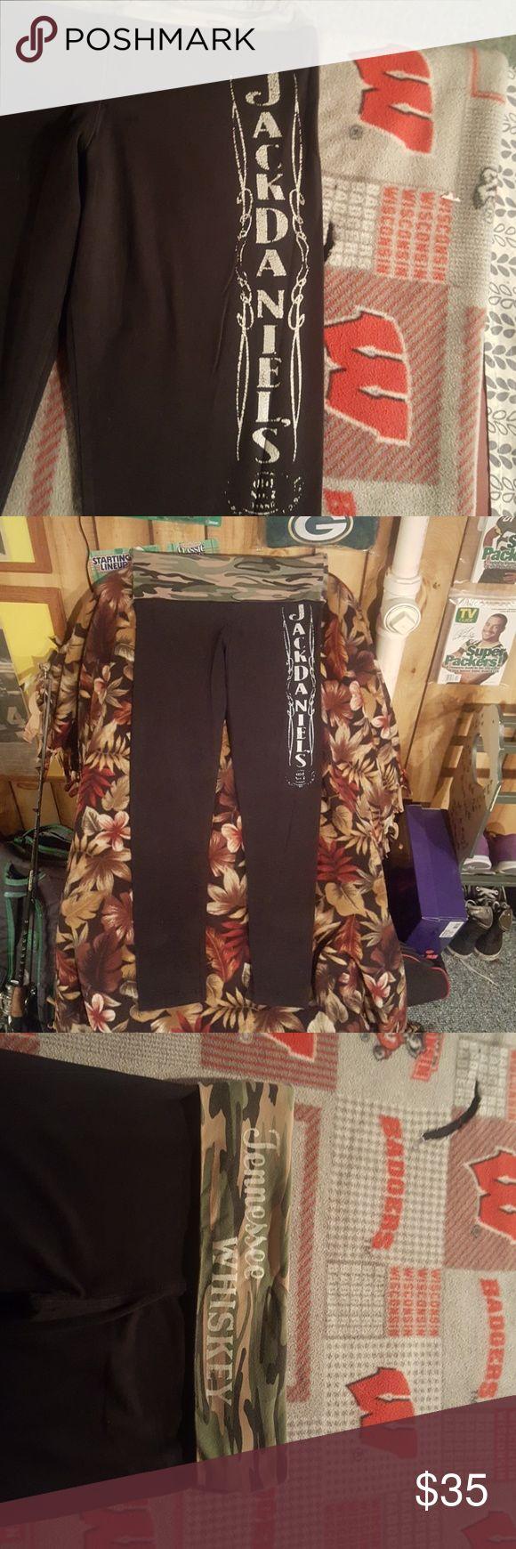 Camo black jack daniels leggings Camo, jack daniels, black soft miami style Pants Leggings