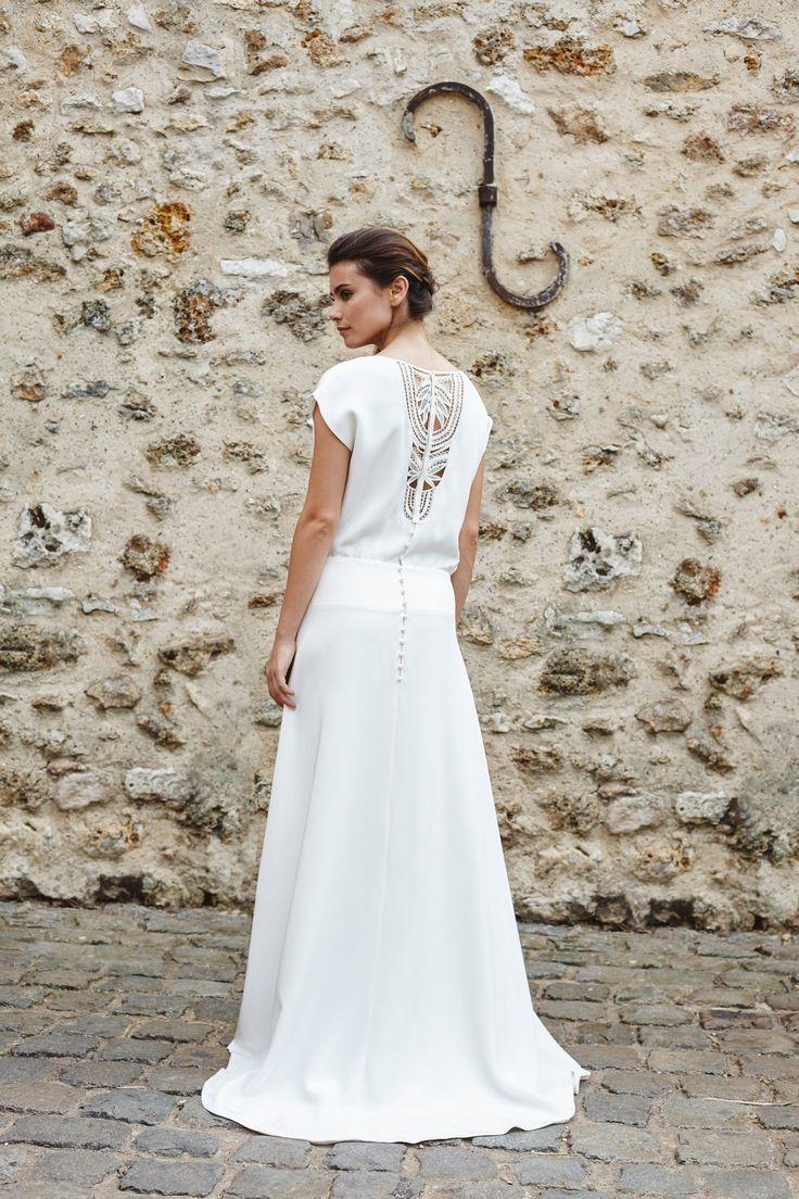 Collection 2018 | Mathilde Marie | Créatrice robes de mariée | Paris