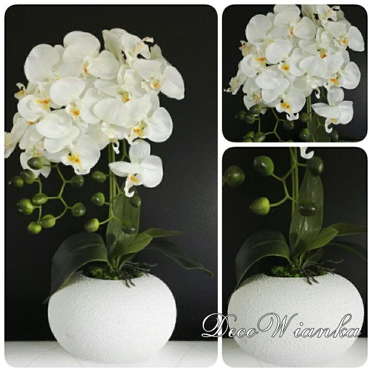 Kompozycja kwiatowa,orchidea,storczyk