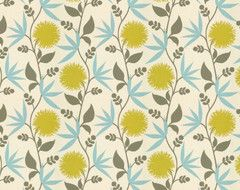 Thomas Paul Fabric: Dahlia/Aegean eclectic-upholstery-fabric
