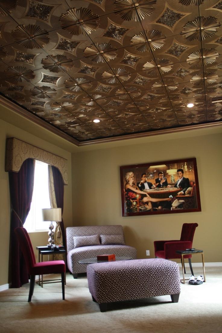 Sunset Boulevard Faux Tin Ceiling Tile 24x24 201