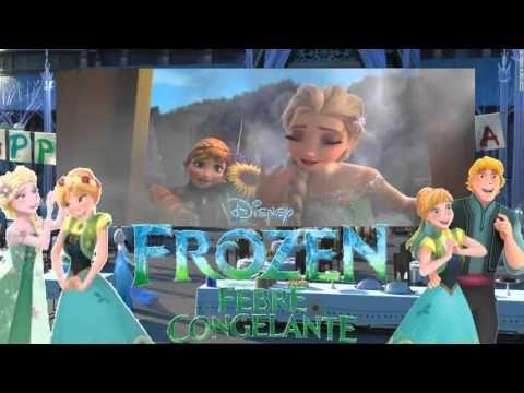 Fomos ao cinema assistir Cinderela e de quebra, o curta do Frozen. A mamãe…