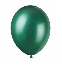 Ballons verts métallisés pour réaliser des têtes tortues ninja