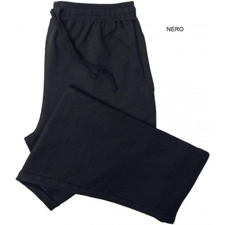 Pantalone tuta felpa invernale uomo be board 9036 taglie forti 3xl 4xl 5xl 6xl