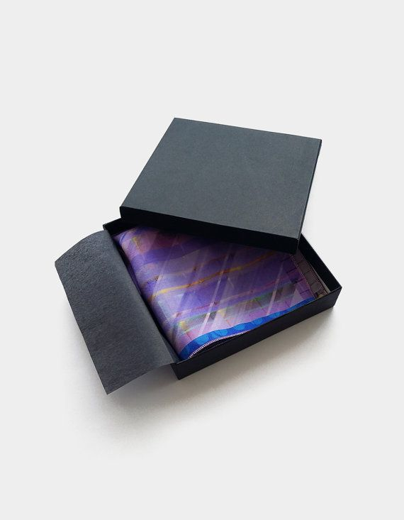 Purple silk pocket square https://www.etsy.com/uk/listing/239894437/purple-pocket-square-violet-blue