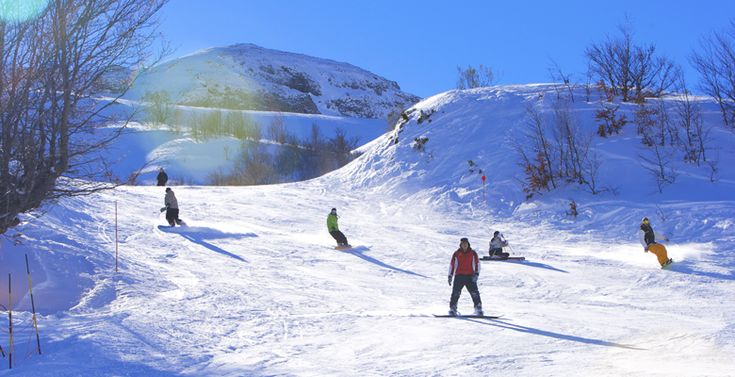 Estación de esquí Fuentes de Invierno en Aller