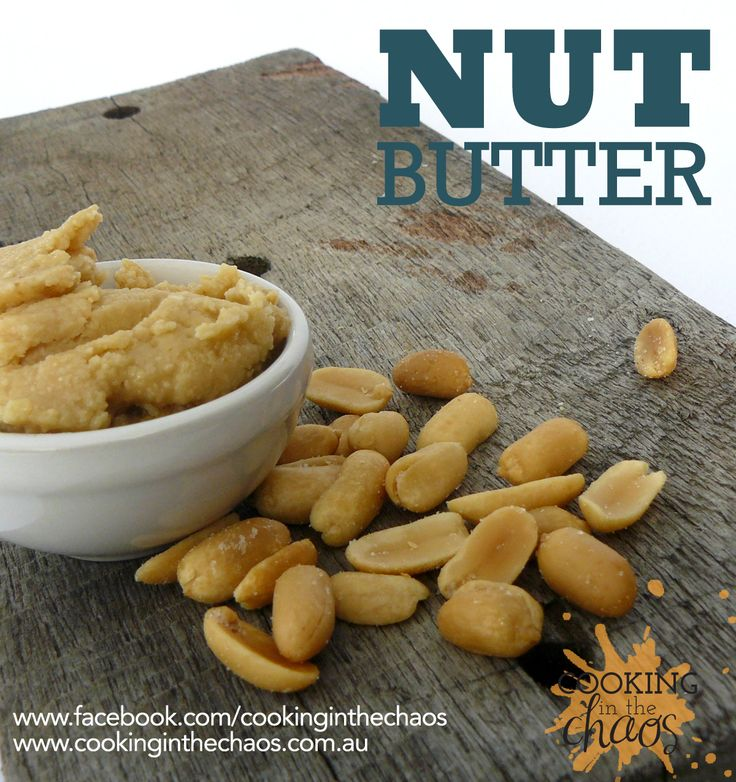 Nut Butter - Thermomix