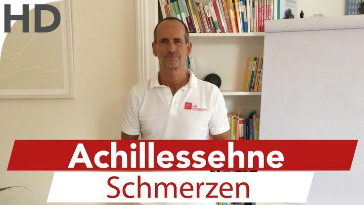 Schmerzen in der Achillessehne - Ursache und Lösung bei Achillessehnensc...