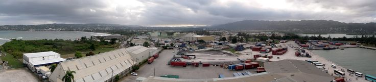 Jamaica: Montego Bay Cruise Port panorama