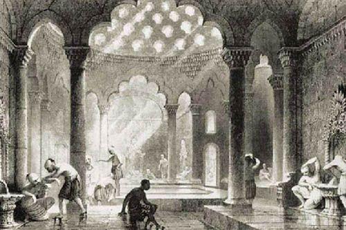 Турецкая баня Хаммам древности