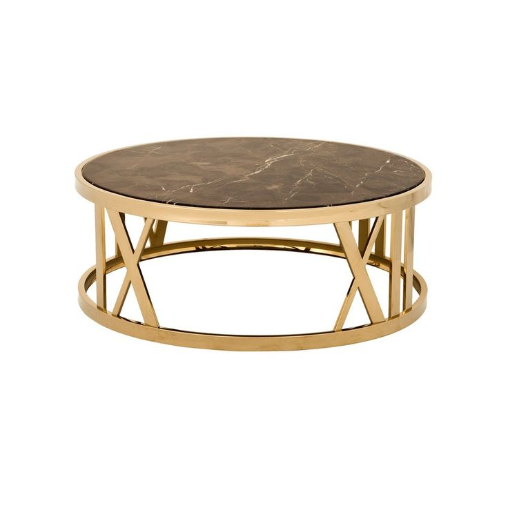 Ethan Allen Oval Glass Top Coffee Table: Eichholtz Baccarat Coffee Table