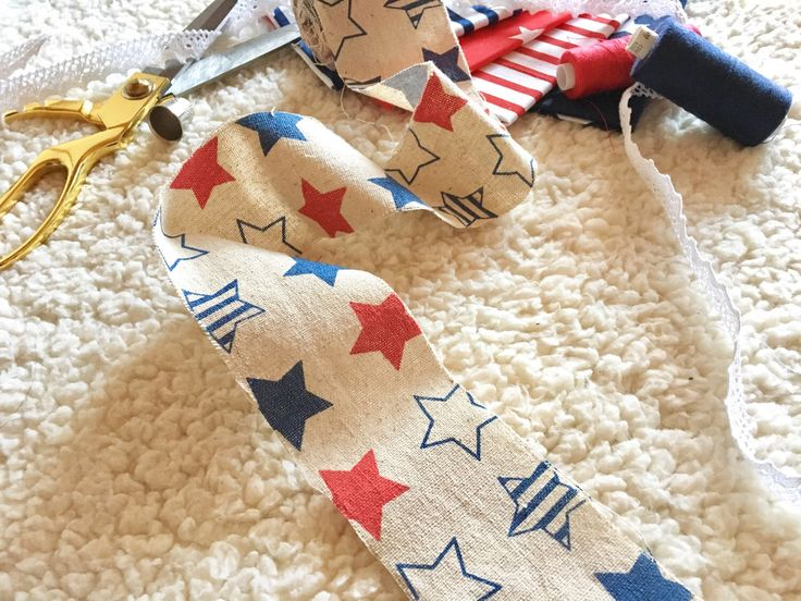 A personal favorite from my Etsy shop https://www.etsy.com/listing/494411392/3m-nautical-ribbon-with-red-and-navy