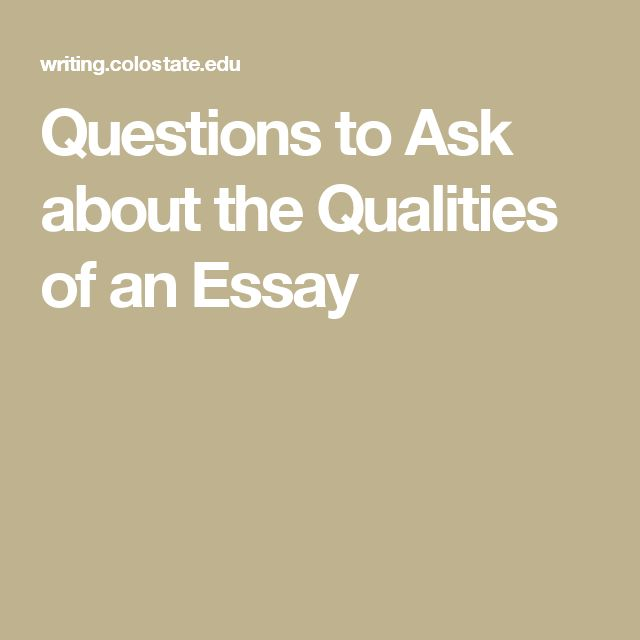 best writing reading images english grammar  questions to ask about the qualities of an essay