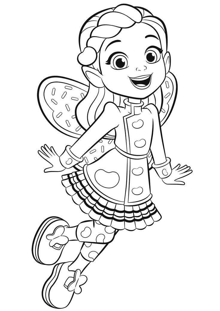 Butterbean Kids printable coloring pages, Coloring
