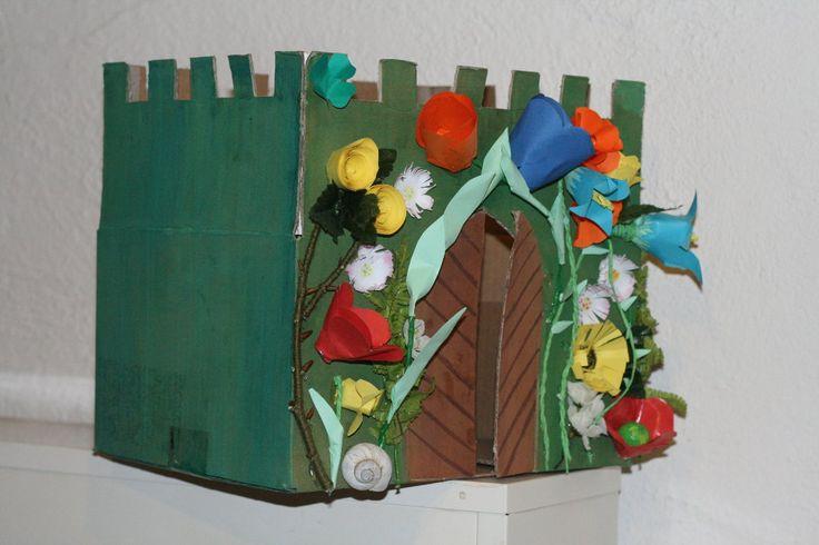 květinový zámek
