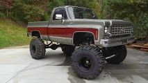 1976 Chevrolet C/K Pickup 1500 Lifted Truck For Sale